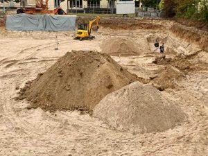 09-2020 Ausheben der Baugrube / 4